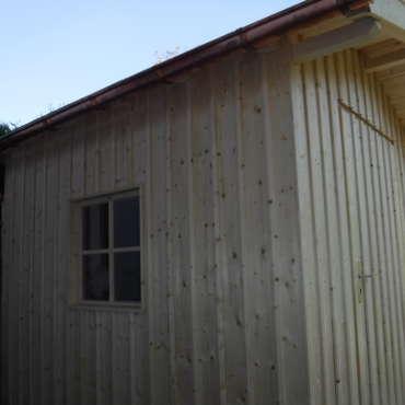 Gartenhütte in Fichte